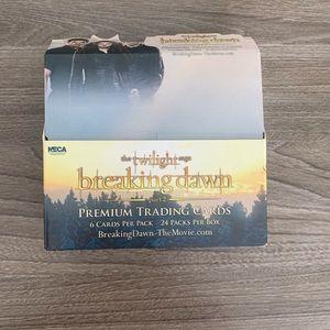 Twilight trading cards box